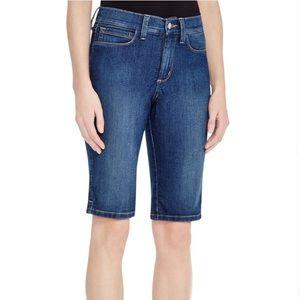 NYDJ Christy Denim Bermuda shorts size 12